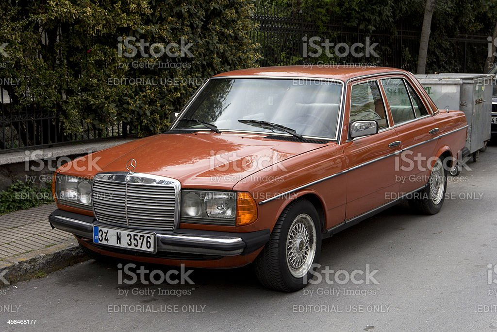 Old Car Mercedes Benz Stock Photo & More Pictures of 1970-1979 | iStock