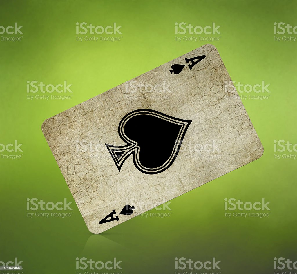 Old card royalty-free stock photo