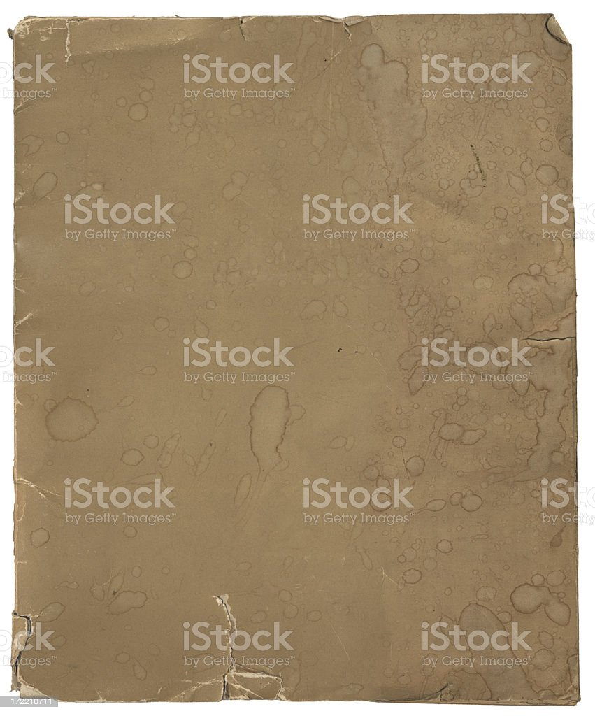 Old Cardboard-XXXL royalty-free stock photo