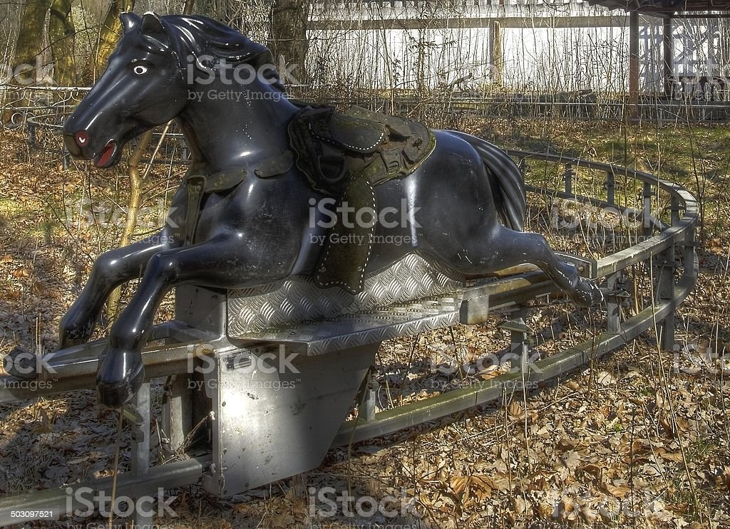 Old Carousel Horse Ride Stock Photo Download Image Now Istock