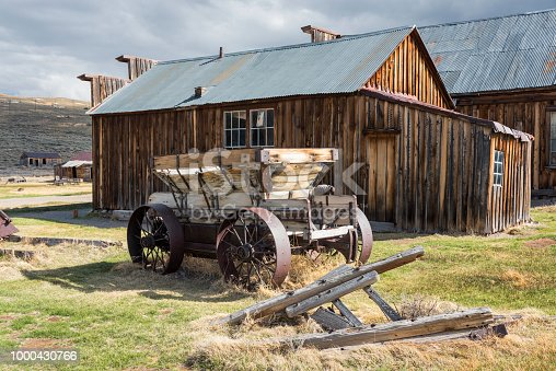 Old Cart at Bodie Ghost Town, California
