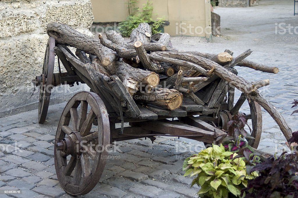 Old cart royalty-free stock photo