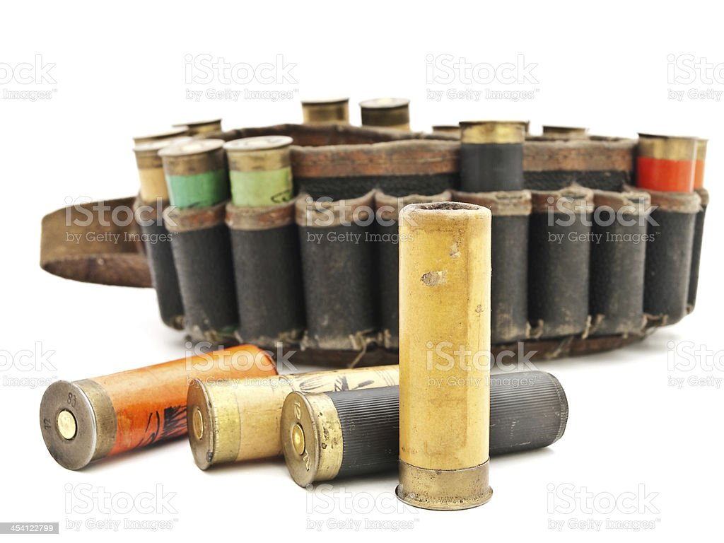 Old Cartridge stock photo