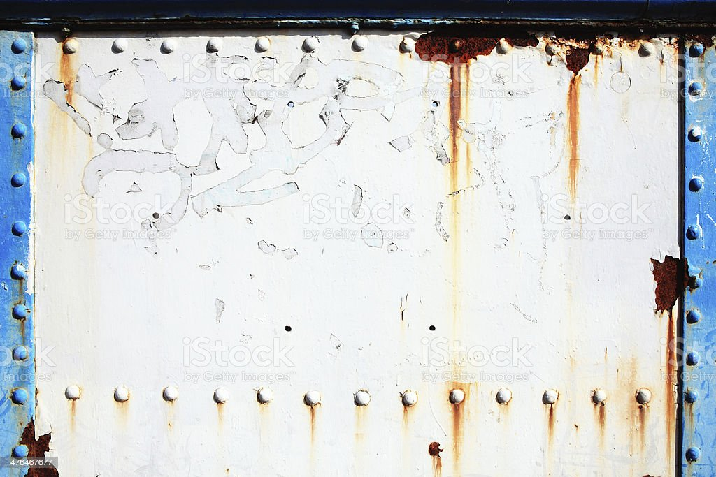 Old cast iron rusty metal background royalty-free stock photo