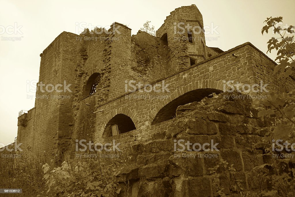 Old castle 01 royalty-free stock photo