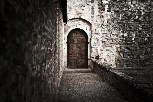 Old Castle Entrance