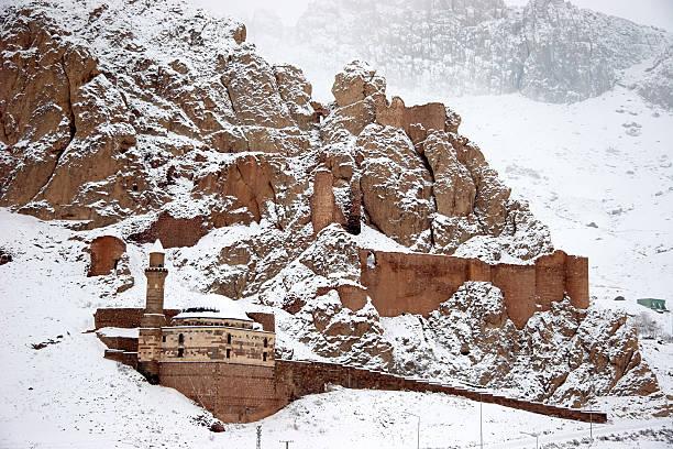 오래된 성 니어 도우바야짓, 앗샤르키야 하띤 스톡 사진
