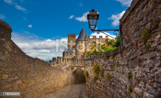 HDR view of an old french castle