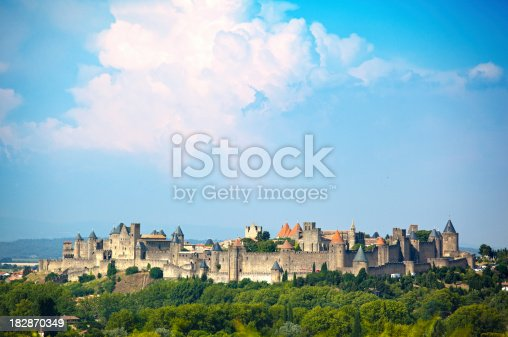 Old castle of Carcassonne