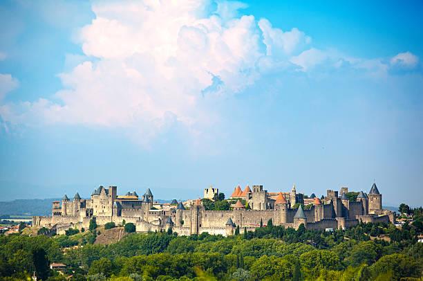 Altes Schloss von Carcassonne – Foto