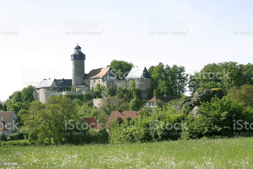 old castle royalty-free stock photo