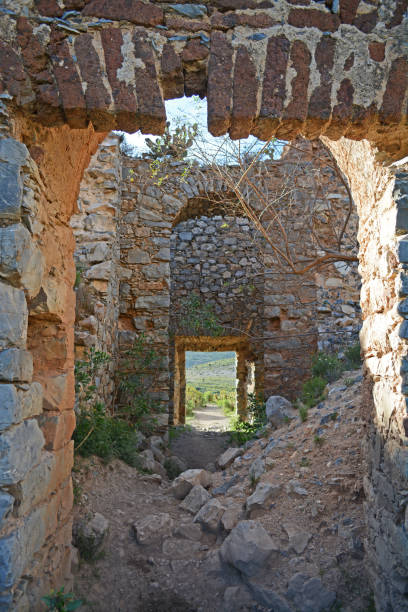 Old castle ruins Old castle ruins real de catorce stock pictures, royalty-free photos & images