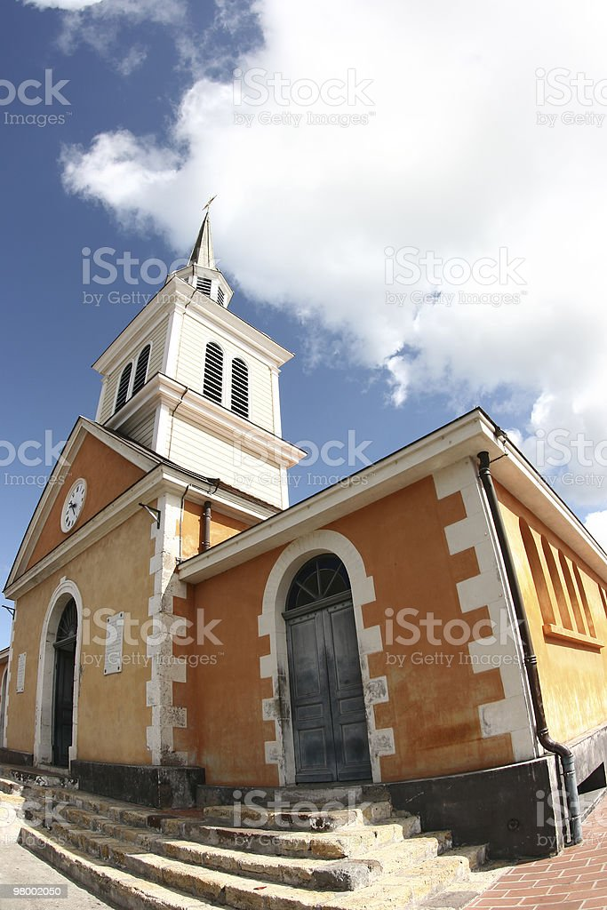 Old Catholic church royalty free stockfoto