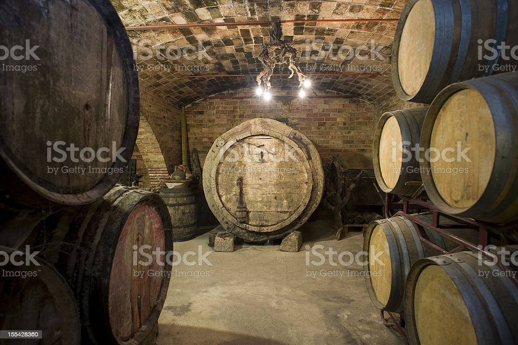 Old Cellar royalty-free stock photo