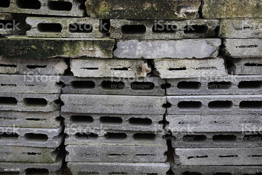 Old Cement block texture stock photo