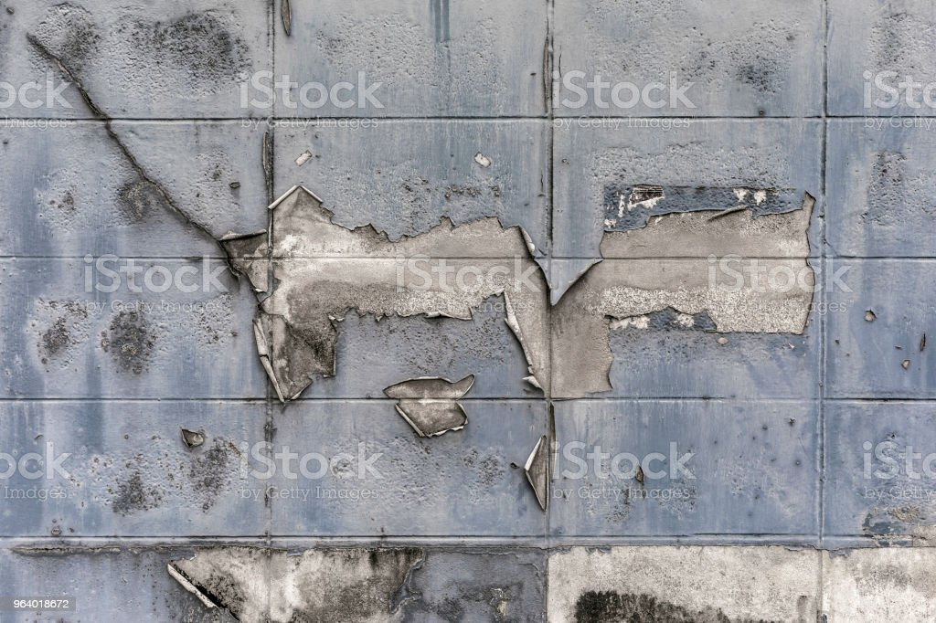 old cement block wall textured grunge background with flake surface details - Royalty-free Abstract Stock Photo