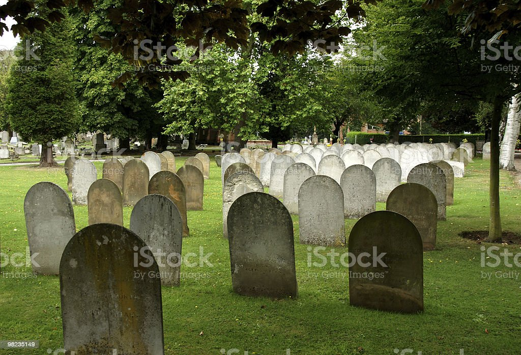 Old cementary royalty-free stock photo