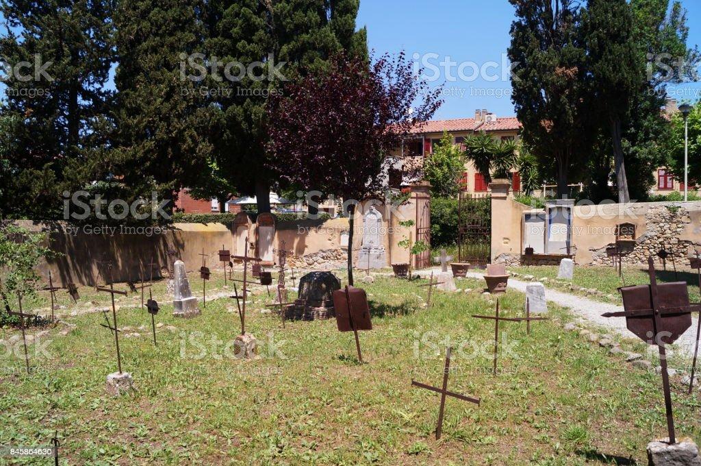 Old cemetery of Bolgheri - foto stock