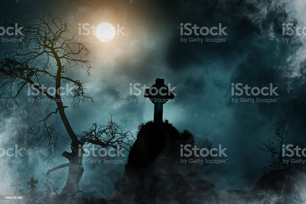 Old Cemetery royalty-free stock photo