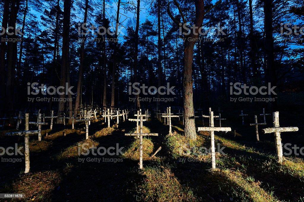 old cemetery #2 stock photo