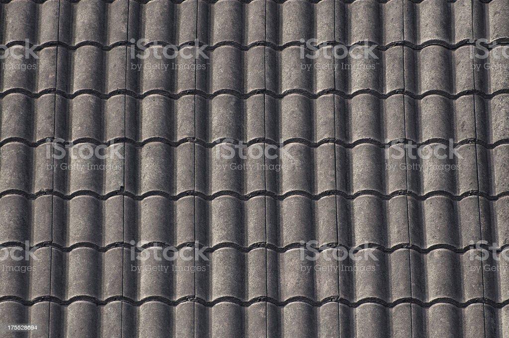 Vecchio tetto texture piastrelle in ceramica fotografie stock e