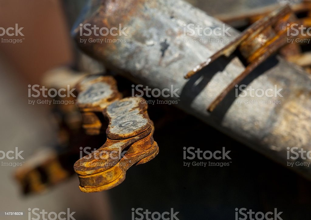 Old Chain stock photo