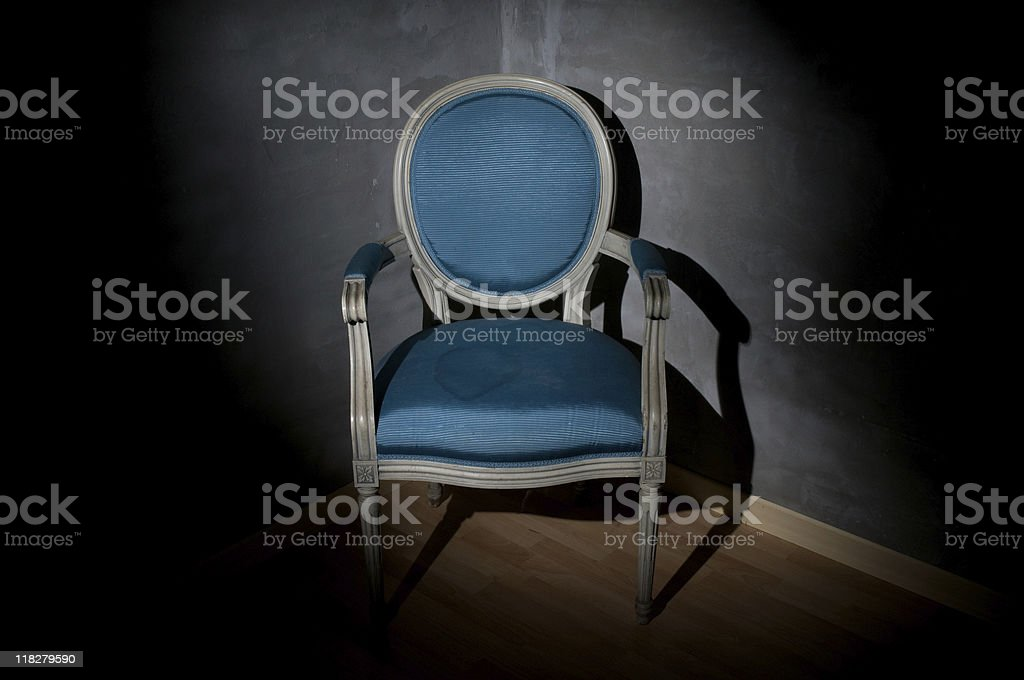 Old Chair 1 royalty-free stock photo