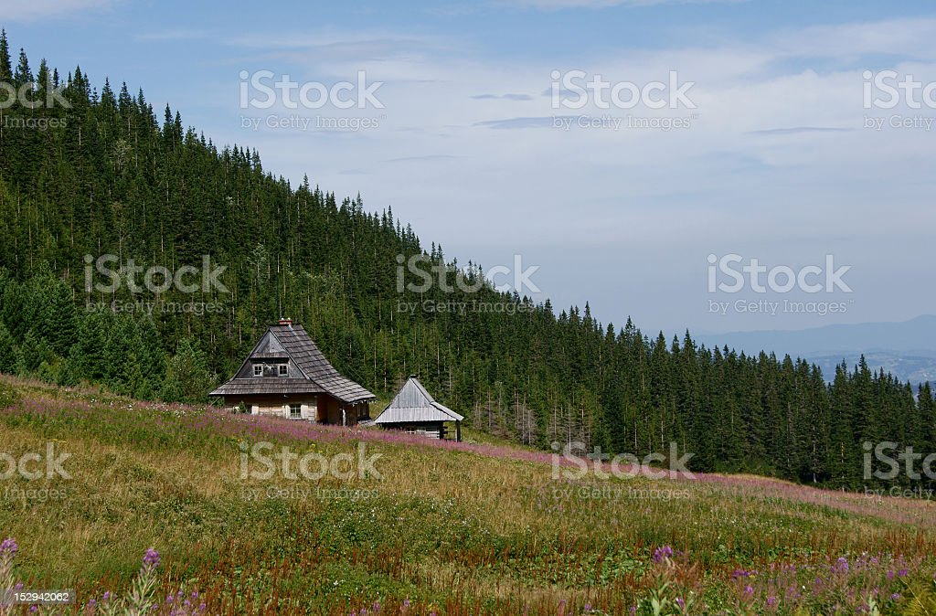 old chalet royalty-free stock photo