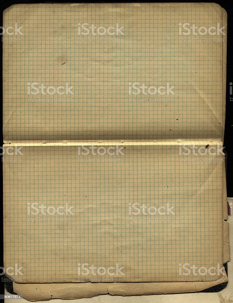 Old Chemistry Book royalty-free stock photo