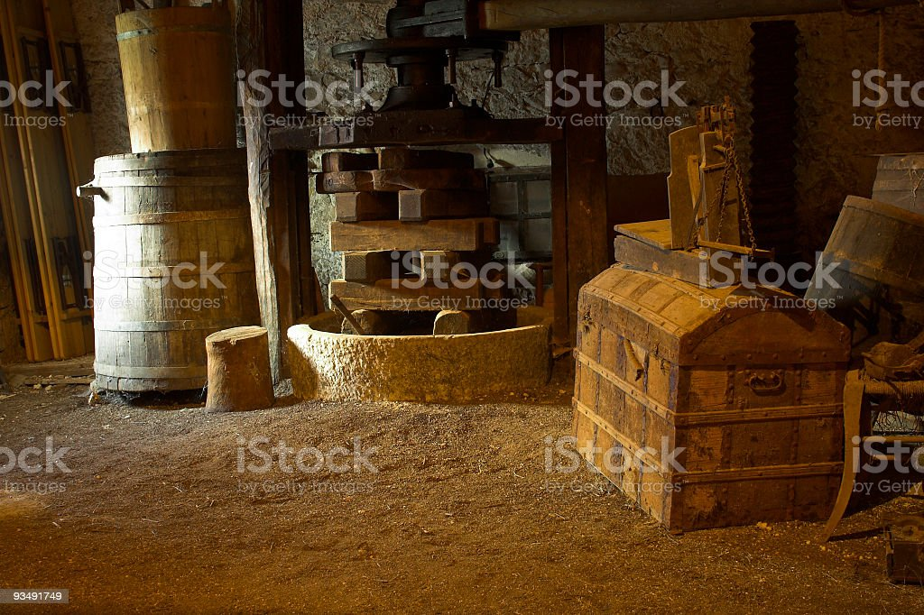 Old Chest royalty-free stock photo