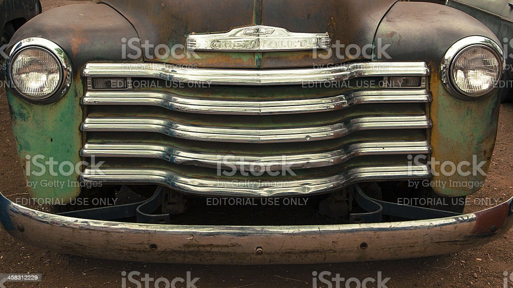 Old Chevrolet royalty-free stock photo