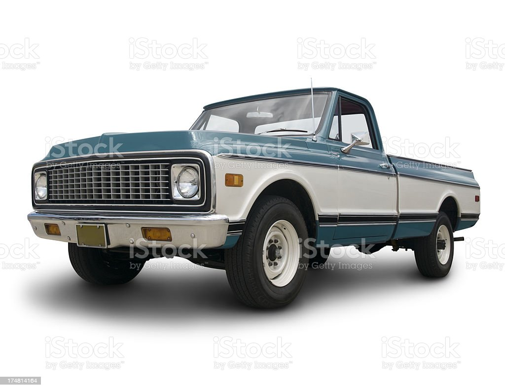 Old Chevrolet Truck stock photo