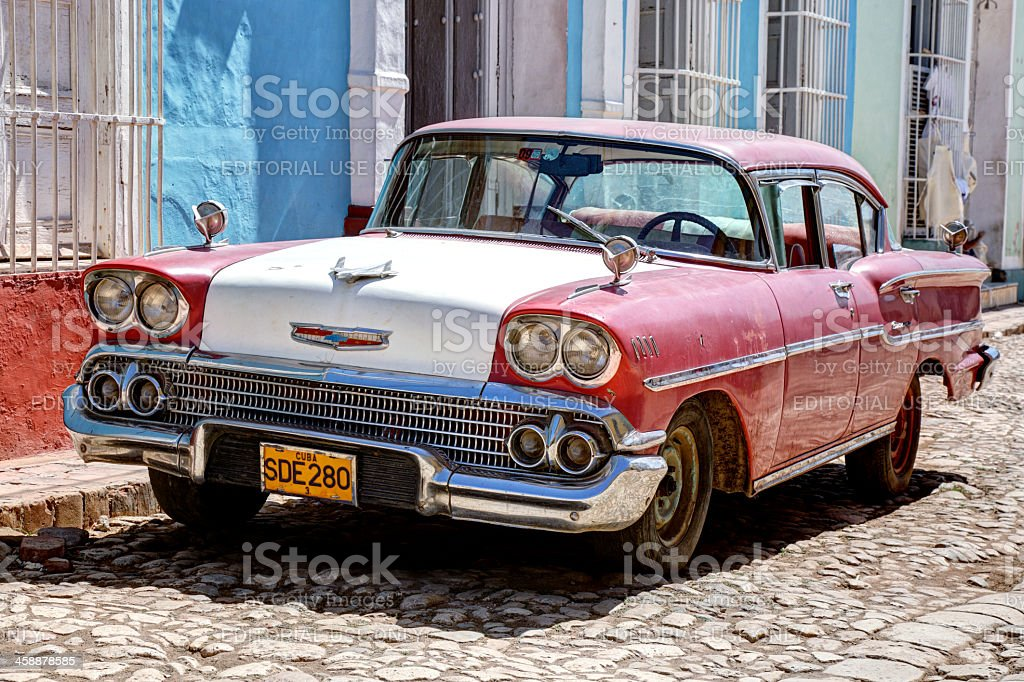 Old Chevy royalty-free stock photo