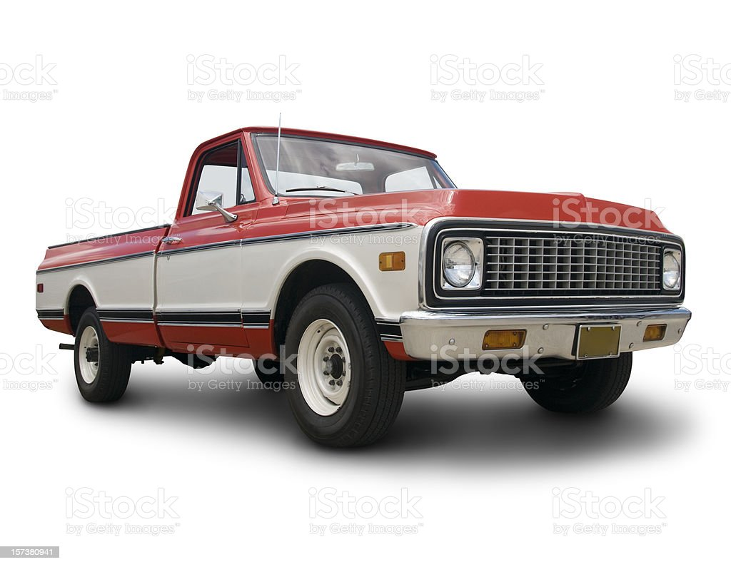 Old Chevy Truck royalty-free stock photo