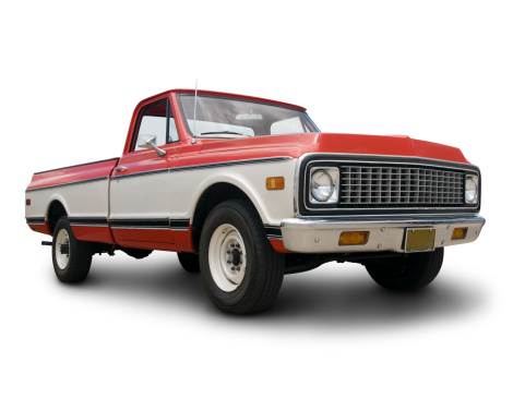 istock Old Chevy Truck 157380941