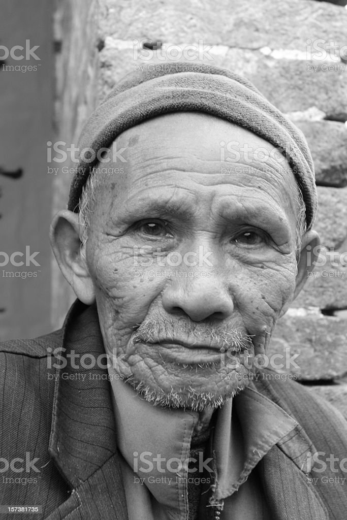 Old Chinese royalty-free stock photo