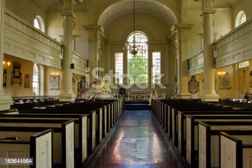 Old Christ Church, in Philadelphia PA