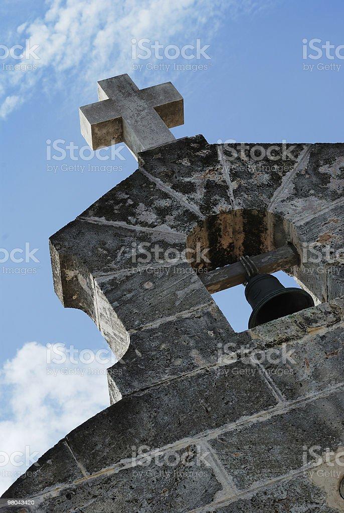 늙음 교회 bell royalty-free 스톡 사진