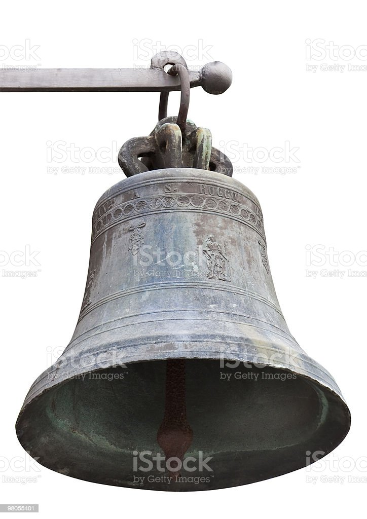 Old  church bell. royalty-free stock photo