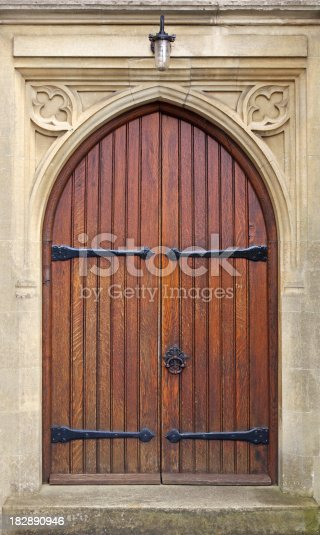 istock old church door 182890946