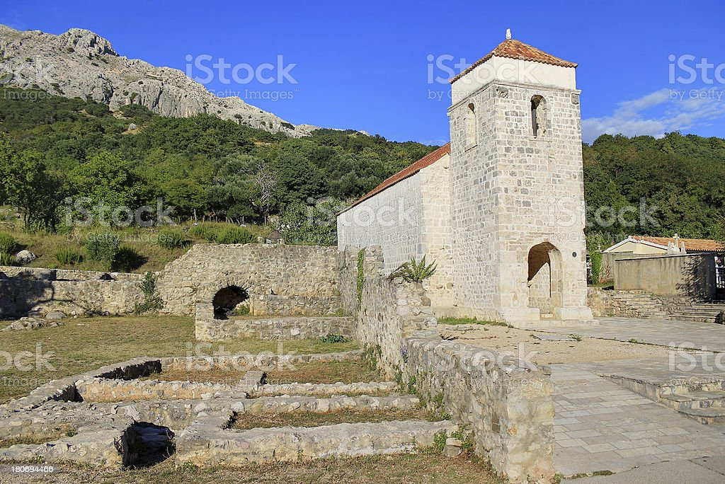 Alte Kirche historic site in Baska – Foto