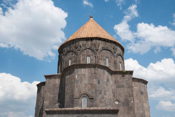 Old church in Kars, Turkey. Old church in Kars, Turkey. armenian genocide stock pictures, royalty-free photos & images