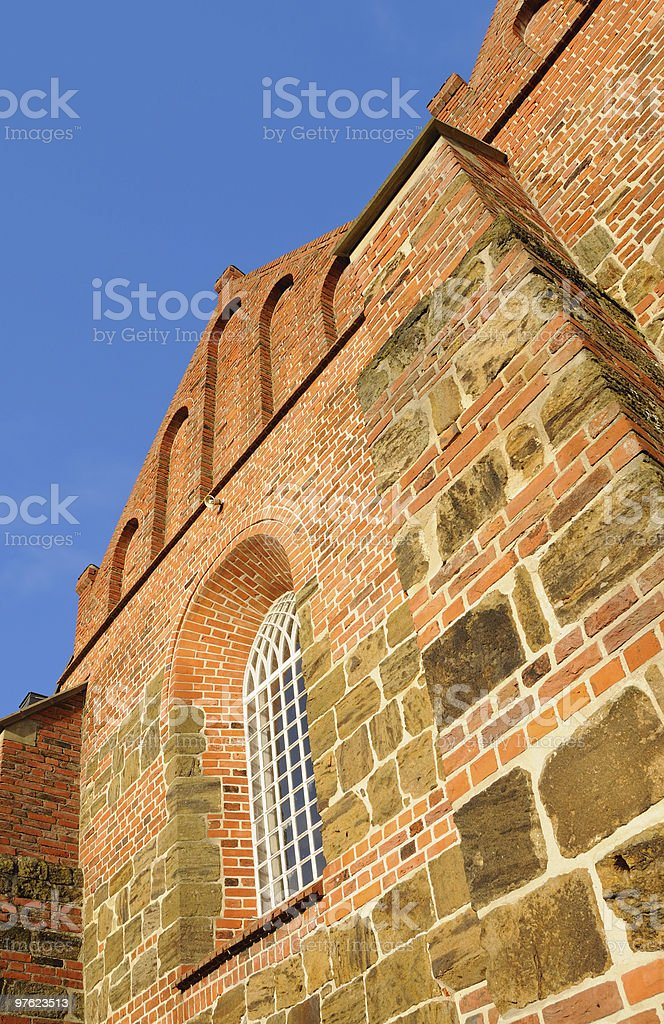 Old Church in Lower Saxony royalty-free stock photo