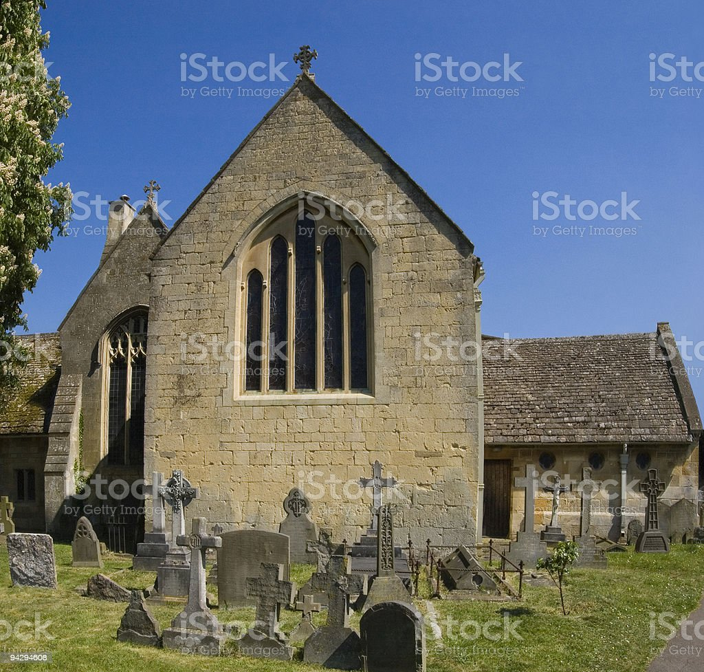 Old Church. stock photo