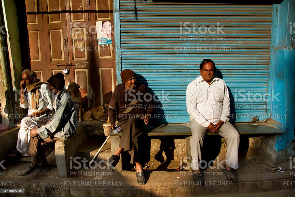 Old City Ahmedabad stock photo