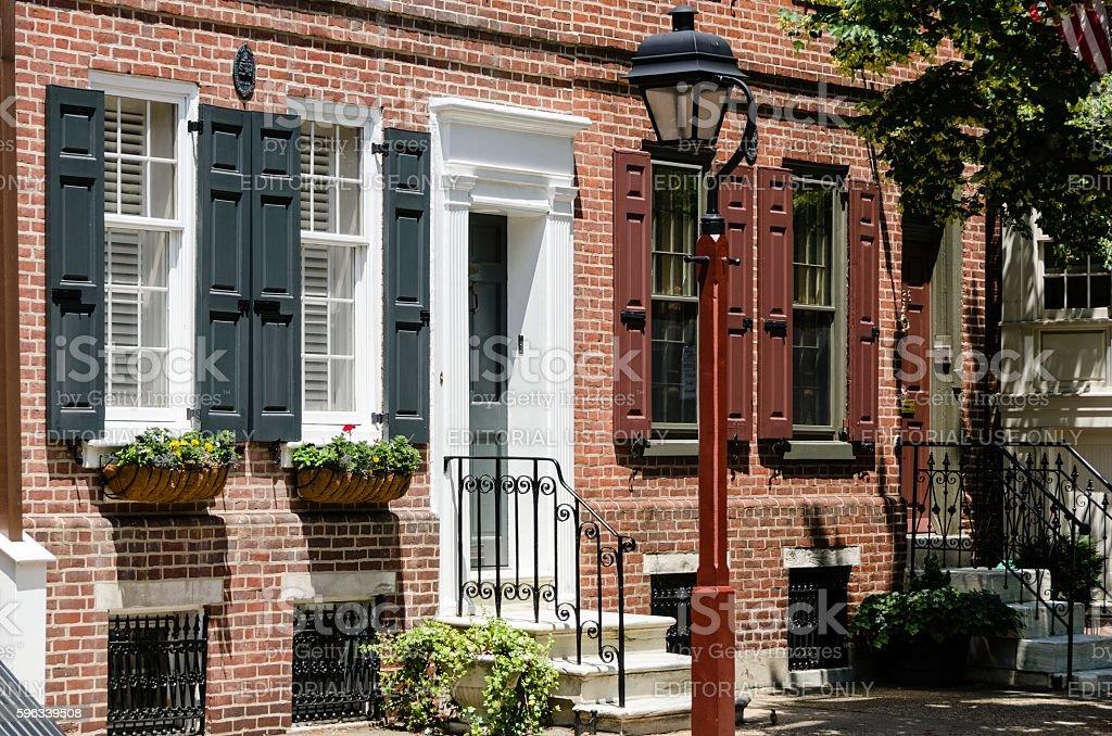Altstadt, Philadelphia Lizenzfreies stock-foto