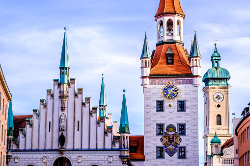 old city hall of munich
