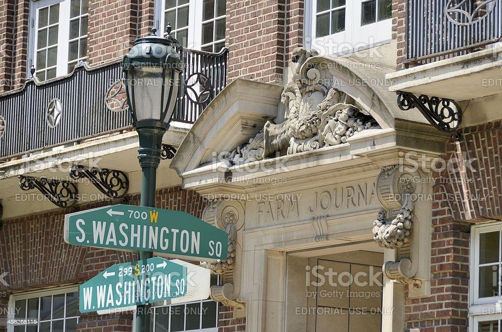 Old City Historic District, Philadelphia royalty-free stock photo