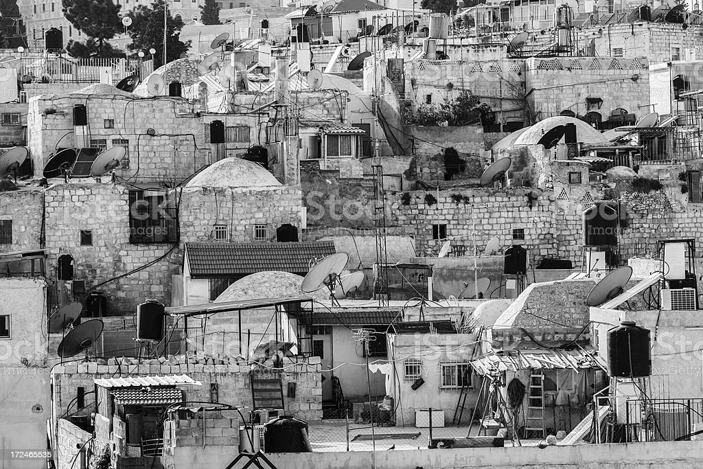 Old City, Jerusalem, Israel royalty-free stock photo