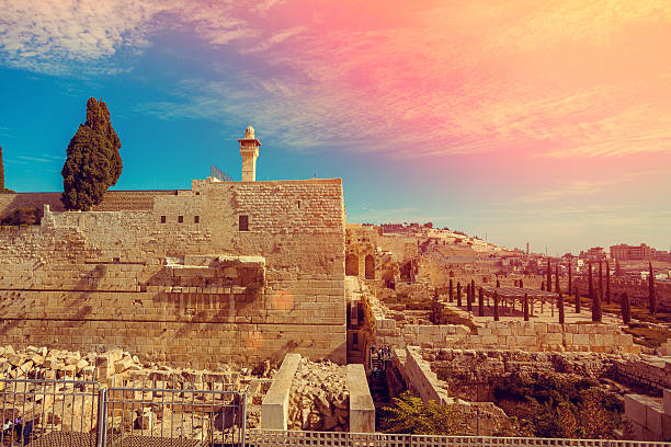 old city jerusalem - ancient stock photos and pictures